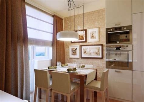 Small Kitchen Dining Room Decorating Ideas 15 Dise 241 Os De Comedor Y Cocina Juntos Para Espacios Peque 241 Os