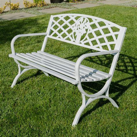 outdoor bench frames 50 quot inch outdoor park bench garden backyard chair porch