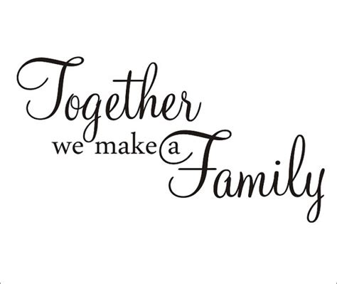 what makes a family families are built in many different ways books items similar to together we make a family large wall