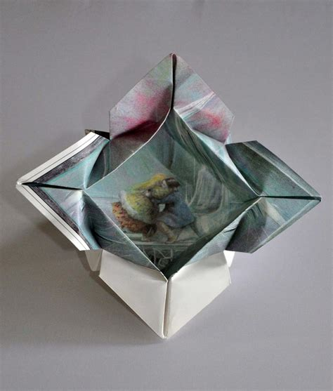 Flower Box Origami - 1000 images about origami boxes functional models on