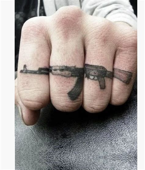 ak tattoo 12 ak 47 gun tattoos designs