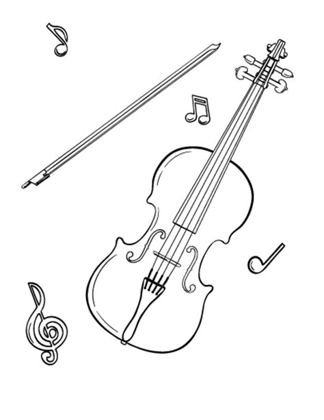 bass violin coloring pages coloring pages