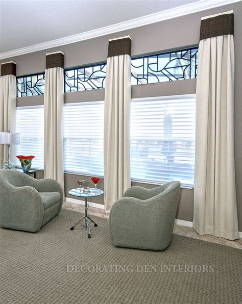 custom window coverings custom window treatments designer curtains shades and