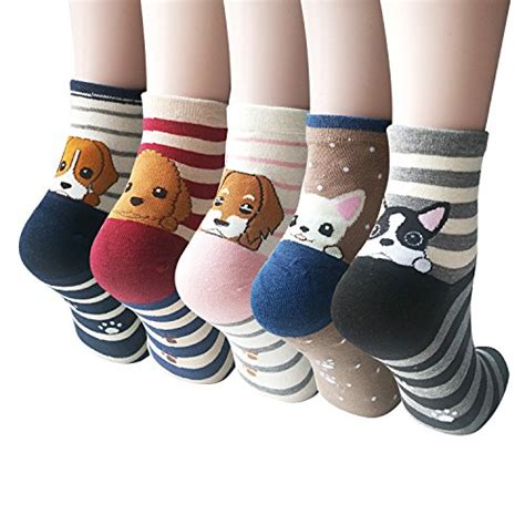 Animal Color Socks Set 3in1 1 womens animal painting socks and cool 100 cotton socks for just