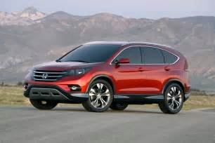 Value Of 2012 Honda Crv 2012 Honda Cr V Breaks Cover