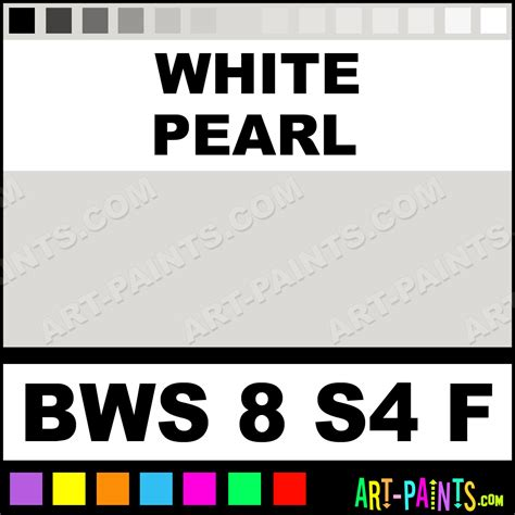 white pearl flow acrylic paints bws 8 s4 f white pearl paint white pearl color matisse