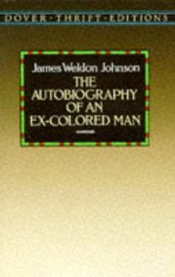 autobiography of an ex colored autobiography of an ex colored rent 9780486285122