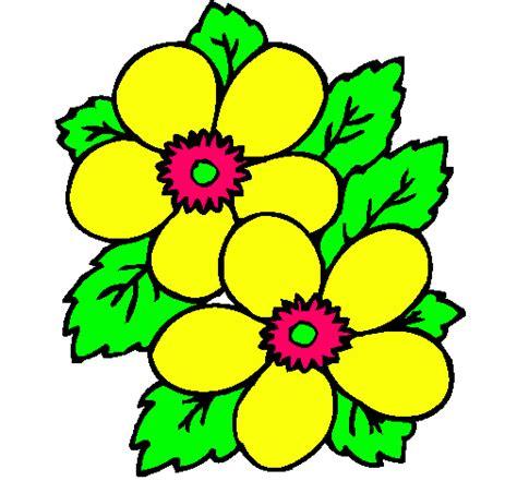 imagenes de flores dibujos flores de dibujos pintadas imagui