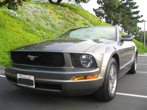 2005 Ford Mustang Convertible by 2005 Ford Mustang Convertible 2005 Ford Mustang