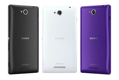 100 brand new for sony xperia c s39h purple battery back