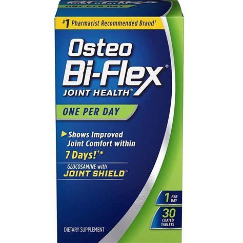 supplement b form i 589 osteo bi flex one per day 30 coated tablets