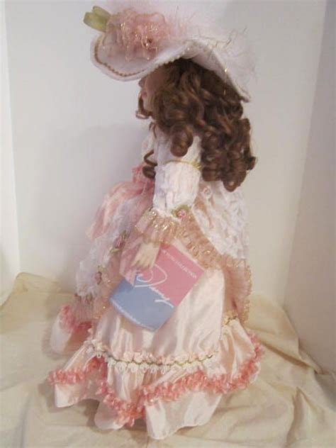 Handcrafted Porcelain Doll - vintage handcrafted porcelain doll quot quot by william tung