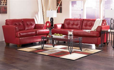 Decorating With Red Leather Furniture » Home Design 2017