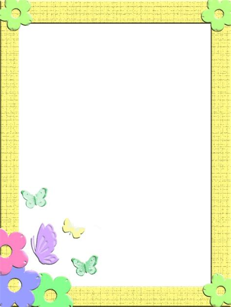 pattern writing frame 1014 best images about writing paper on pinterest clip