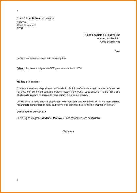 Lettre De Demission Cdi Vendeuse Rtf Lettre De Motivation Carrefour