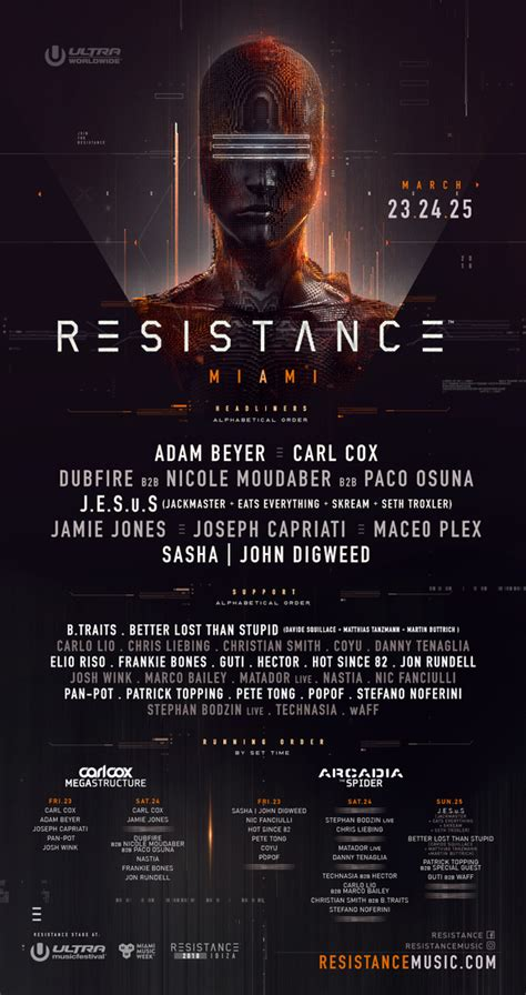 ultra festival 2018 lineup tickets dates live spacelab festival guide