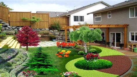 sloping backyard landscaping ideas backyard sloped landscape ideas the garden inspirations
