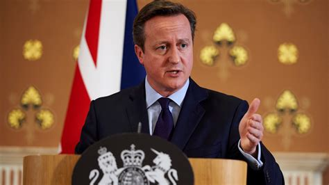 Justin Cameron Make Official Statement by Cameron To Make Statement On Jihadi Air Strike