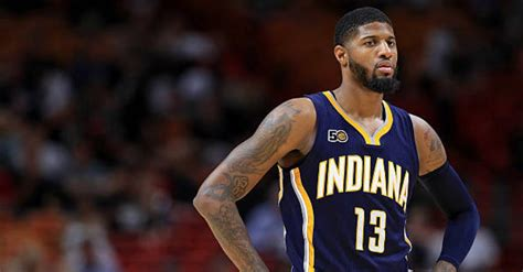 Paul George 1 Blackbuster paul george says he expects to play out contract with pacers next season