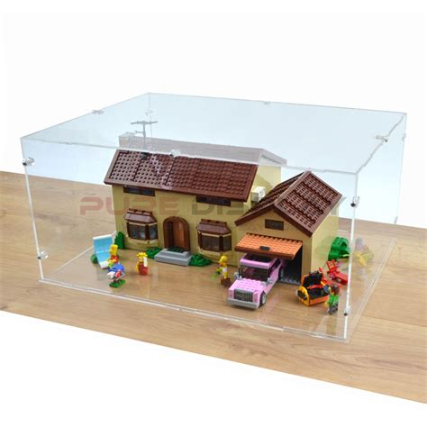 lego simpsons house display case for lego 71006 simpsons house