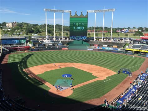 Section 8 H by Kauffman Stadium Section 421 Rateyourseats