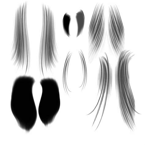 photoshop pattern hair 12 hair textures psd images photoshop hair brushes hair