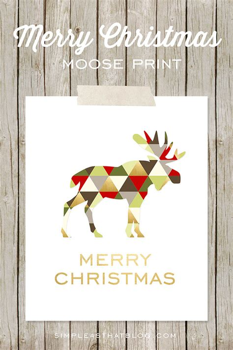 merry bright christmas printables  framing