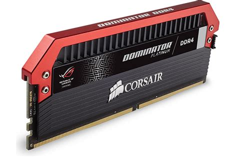 Memory Ram Asus corsair launches dominator platinum memory modules for asus rog systems