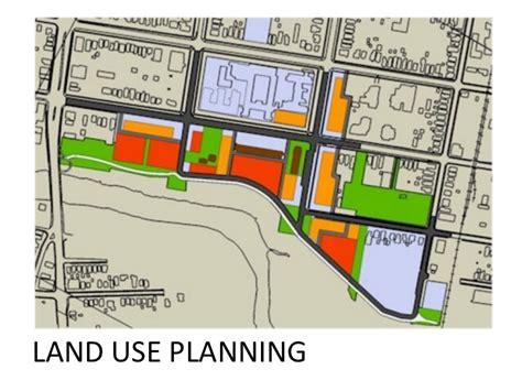 layout of land use land use planning