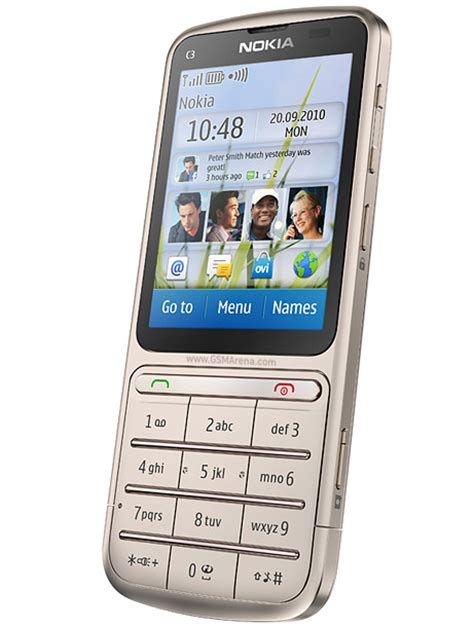 Hp Nokia C3 nokia c3 01 touch and type pictures official photos