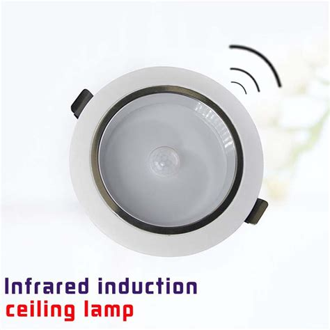 Motion Activated Ceiling Light Fixture Led Motion Sensor Ceiling Light Useful Kitchen Ceiling Light Bathroom Hallway Ceiling Light