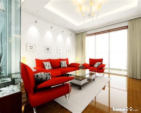 home decor red sofa living room ideas com couch 100 decora 199 195 o vermelho na sala de estar sem errar cores da casa