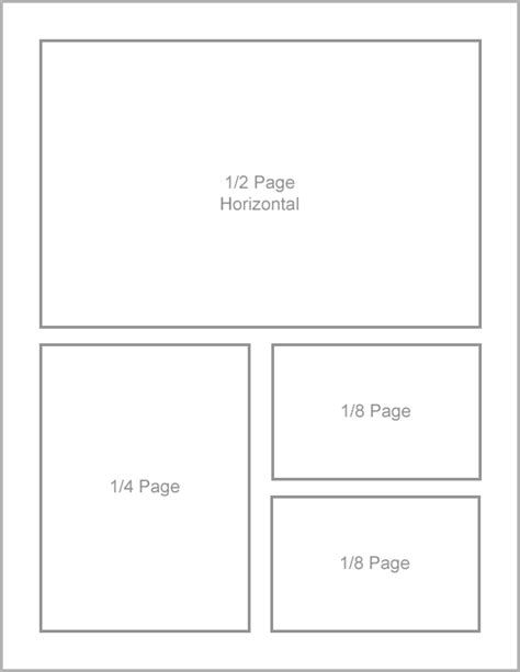1 2 page flyer template advertising rates midland area chamber of commerce