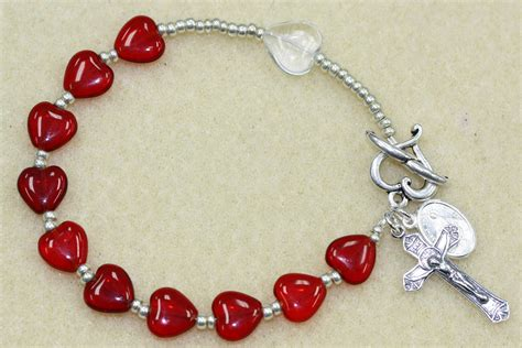 how to make a beaded rosary rosary bracelet easy tutorial bead world