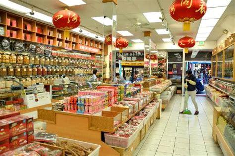 negozio alimentare negozio alimentare cinese foto di chinatown san