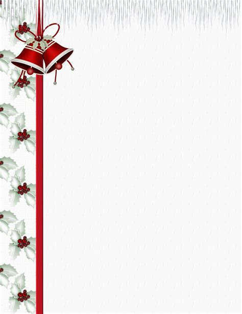 christmas stationery template downloads christmas