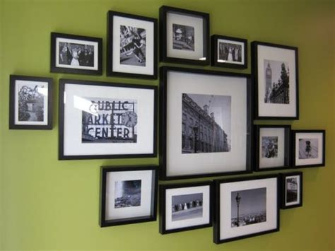 wall frame design layout how to ikea ribba frame gallery wall another potential