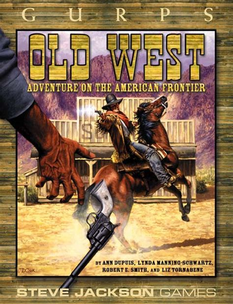 of the west books gurps west