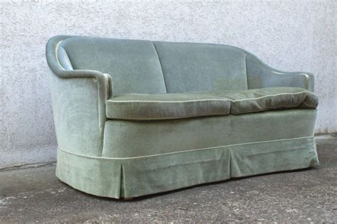 50er 60er vintage sofa loveseat velours gr 252 n italien