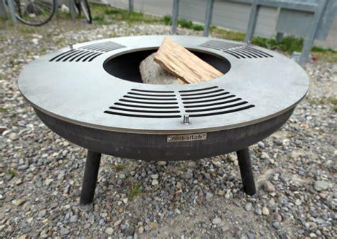 feuerschale mit grillplatte metall werk z 252 rich ag quot grillring quot die edelstahl