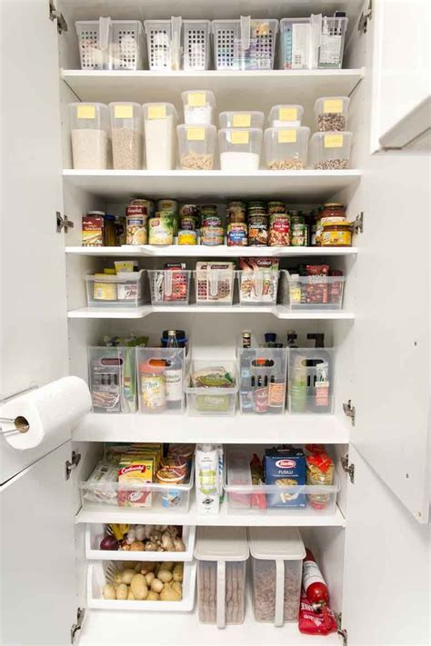 declutter and organize your pantry kitchen pantry