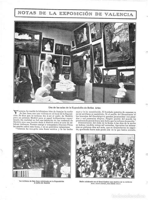 1909 hoja revista valencia exposición regional - Comprar