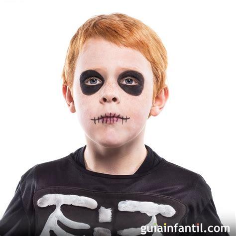 maquillaje para hombres esqueleto maquillaje de calavera o esqueleto para halloween ideas