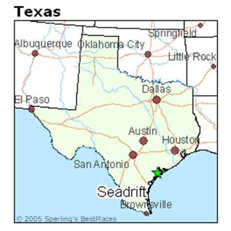 where is texas located on the map best places to live in seadrift texas