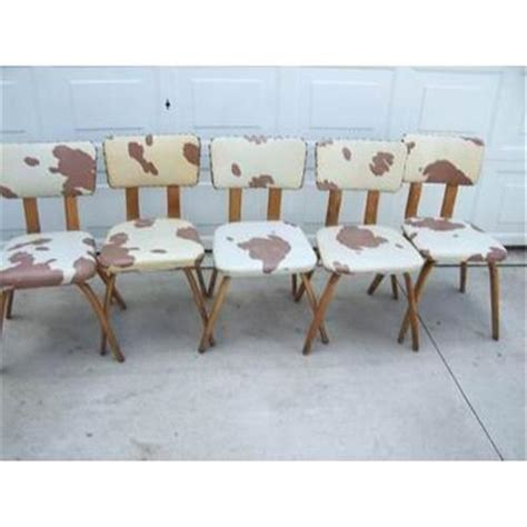 cowhide dining room chairs share