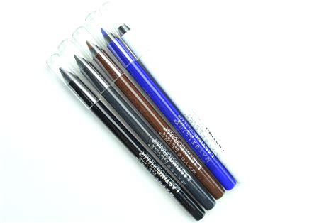 Maybelline Waterproof Eyeliner Pencil maybelline waterproof gel pencil review