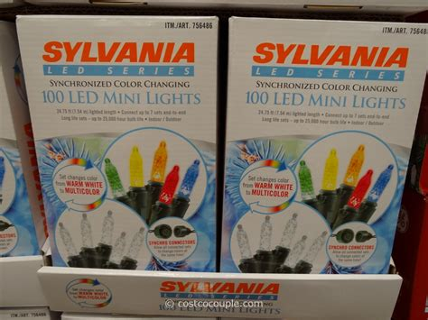 sylvania 100 led mini lights