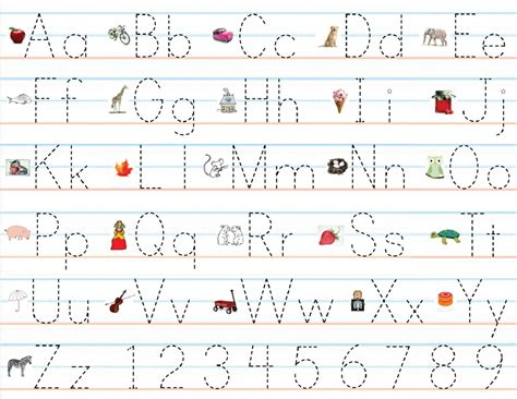 handwriting templates for preschool practice writing alphabet easily loving printable