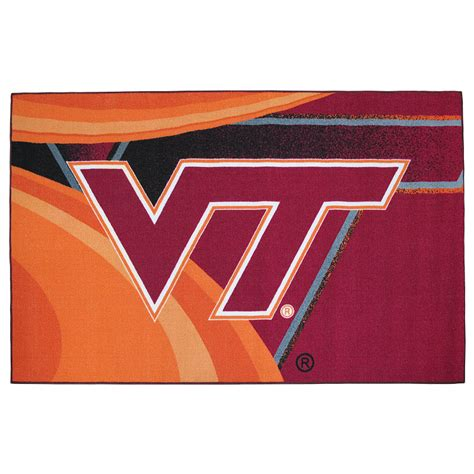 virginia tech rug virginia tech large tufted rug