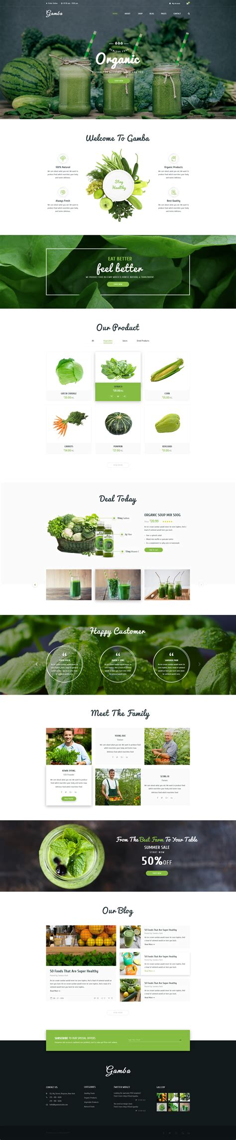 pinterest layout psd gamba organic psd template by gambathemes themeforest